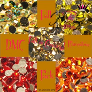 Fall is Here DMC Rhinestone Color Combination Pack
