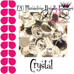 Crystal DMC Rhinestone 720 pcs Bundle